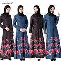 Vestido abaya muçulmano para as mulheres Islâmicas vestidos de dubai vestuário Islâmico Muçulmano kaftan Vestido abaya hijab jilbab turco 046
