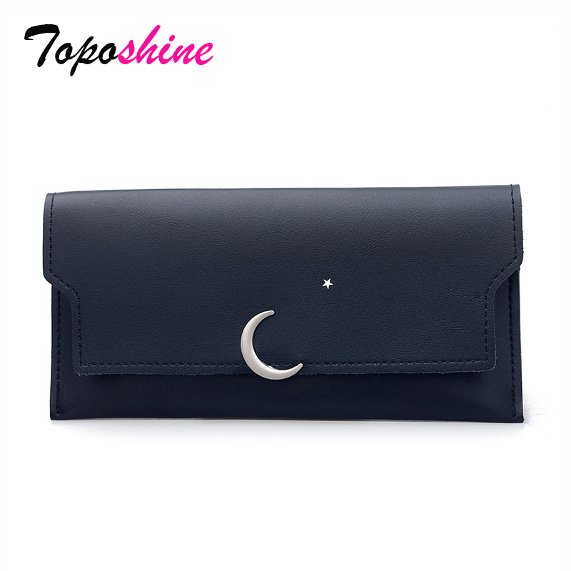 Simple Thin Wallet Female Long Section of the Korean Version of the New Moon Moon Tide Fashion Wild Personality Folding Wallet 2016 new arrival women s luxury jacket short paragraph korean version nagymaros collar female was thin tide coat mz575 page 4 page 4