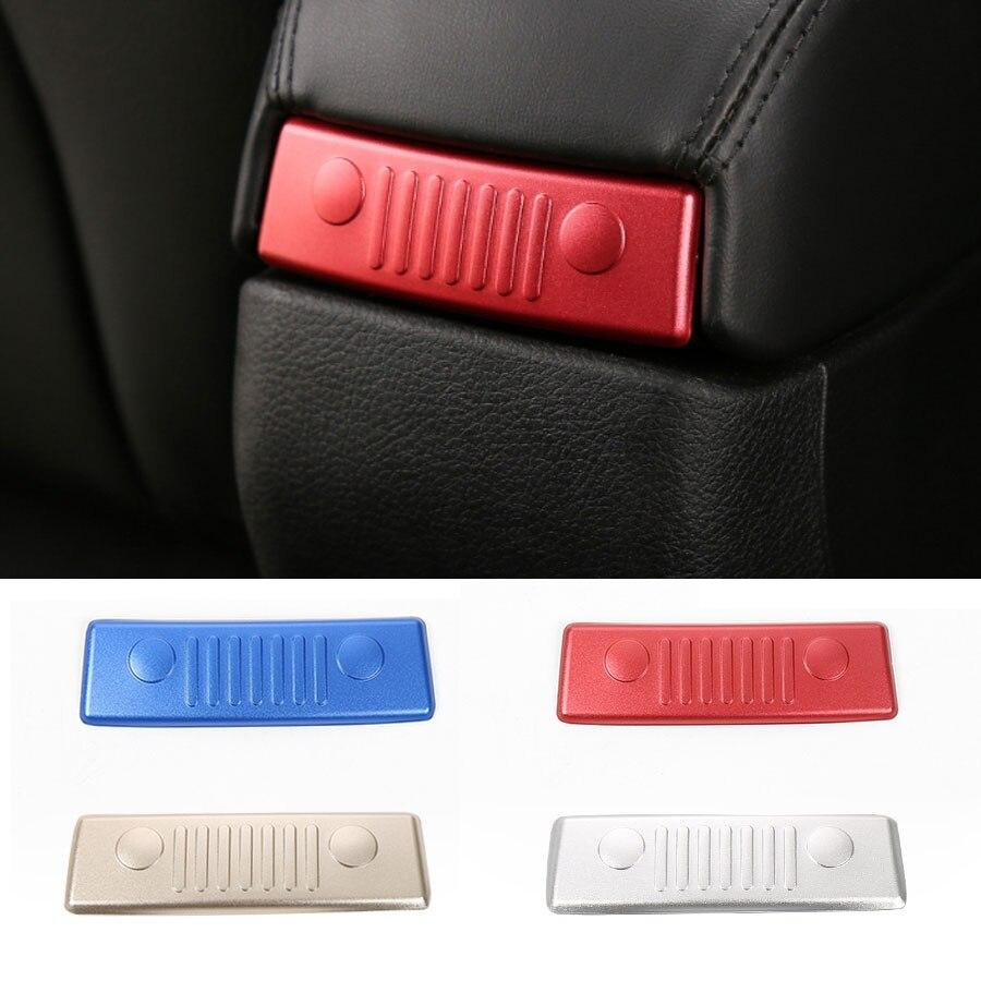 Автомобильный Стайлинг, наклейка на подлокотник для Jeep Renegade, 2015, алюминиевая лицевая сторона, дизайн, задняя крышка, декоративная отделка, п...