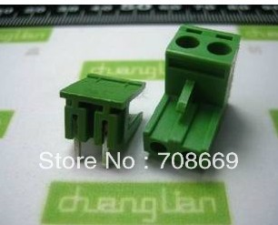 20 штук блок терминала Провода Инструменты для наращивания волос 2EDG 5.08-2 P