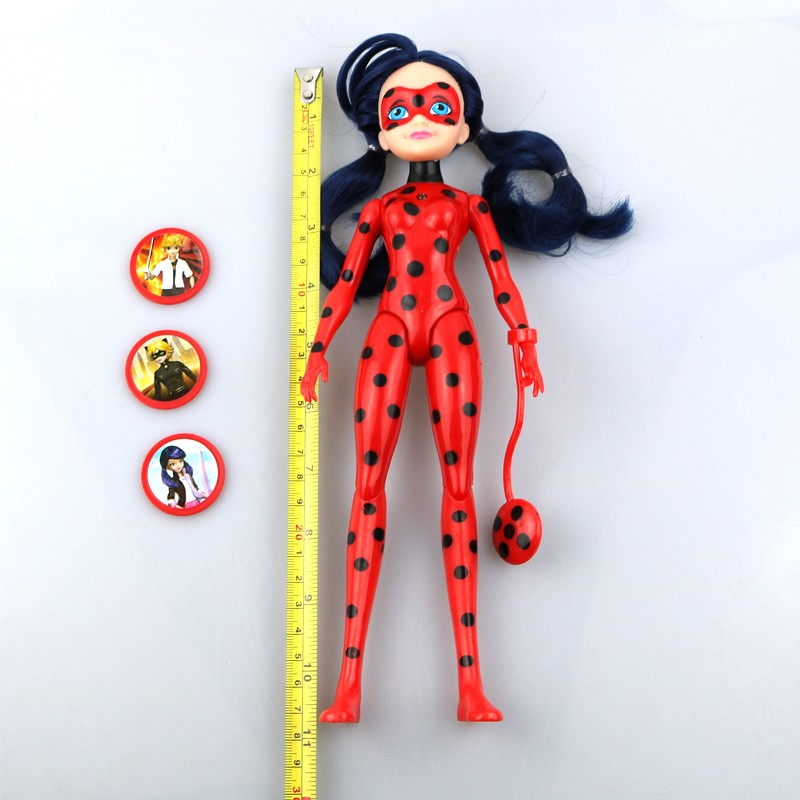 Miraculous Ladybug Girl Doll Musical Light Movable Joints 27cmToys #1948 Action Figure Brinquedo Toy Kids Birthday Gift action figure beautiful girl model toy native ghost month bride doll birthday gift for children kids 18cm