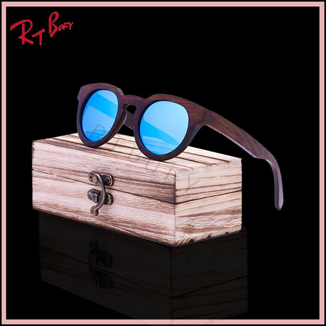 2017 Cool Fashion Ms pacotes enviados De Madeira De Bambu moda retro óculos de sol luz polarizada verde natural Made in China handmade