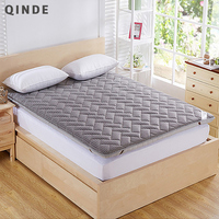 QINDE Hot Mattress Wholesale Breathable Thickened Single Dormitory Mattress Three Dimensional Foam Mattress Public House TO