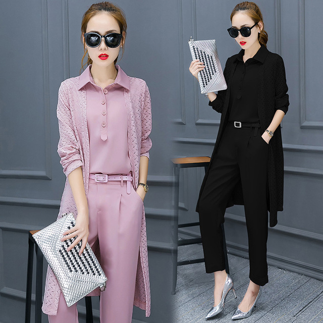 124e61c57b6 new Women Casual Office Business Suits Formal Work Wear Sets Uniform Styles  Elegant Pant Suits 3 pieces sets women s suits