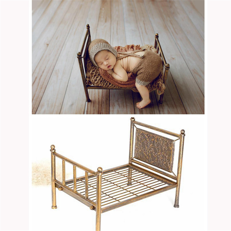 Nouveau-né lit photographie accessoires rustique bébé lit photo accessoires nouveau-né tache photo toile de fond