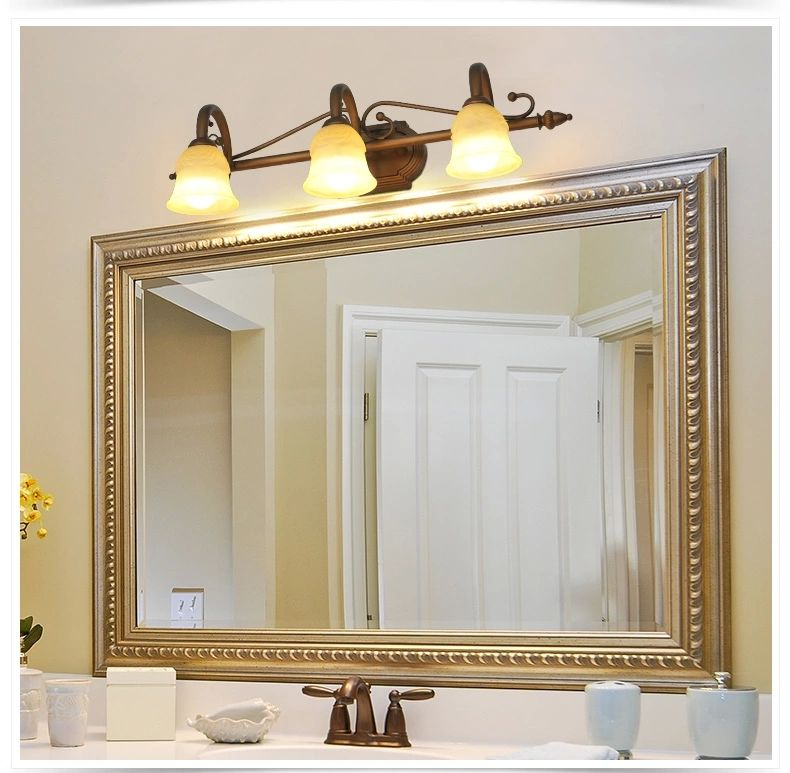 buy european led american mirror front mirror lamp bathroom front lamps mirror bathroom dressing table mirror lighting from reliable light