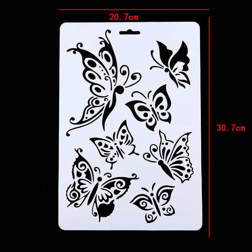 Butterfly Stencils For Painting Walls