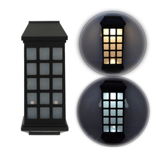 Solar Power LED Light Outdoor Garden Wall Lamp  For waterproof Garden Lawn lamps Landscape Yard lights цены