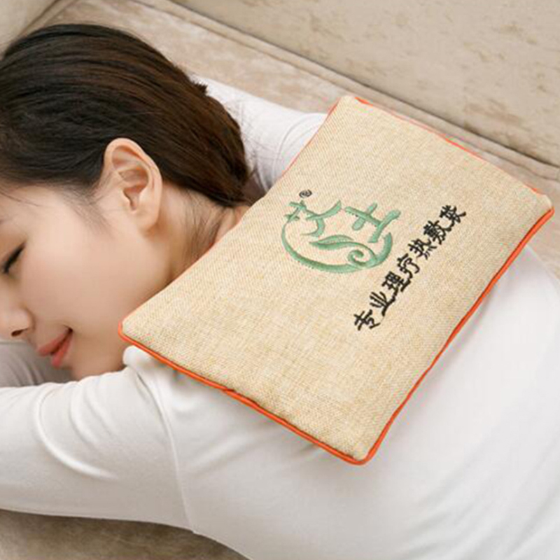 Salt Packet Coarse Heat Pack Bags Hot Sea Salt Knee Neck Cervical Shoulder Ai Salt Moxibustion Traditional Chinese Medicine Bags