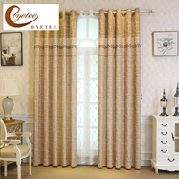 Byetee Curtain Fabrics Modern Kitchen Door Luxury Jacquard Curtains For Living Room Bedroom Blackout Curtain