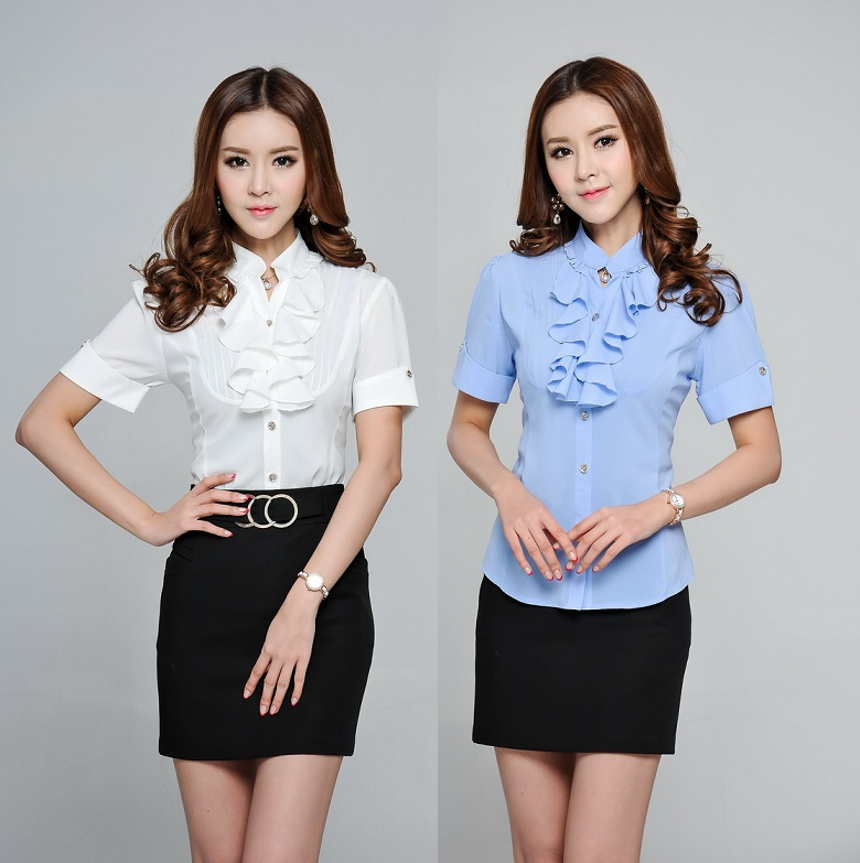 Short Sleeve Blouses For Work