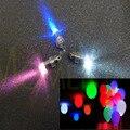 6 unids/pack LED enciende Luces del Partido de Mini, globos, Linternas de papel, bodas, a prueba de agua para niños de regalo