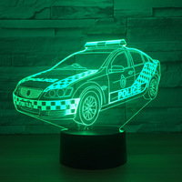 LED Car Model Creative Toy Interior Decoration Model With LED Decoration Gift Collection K1265