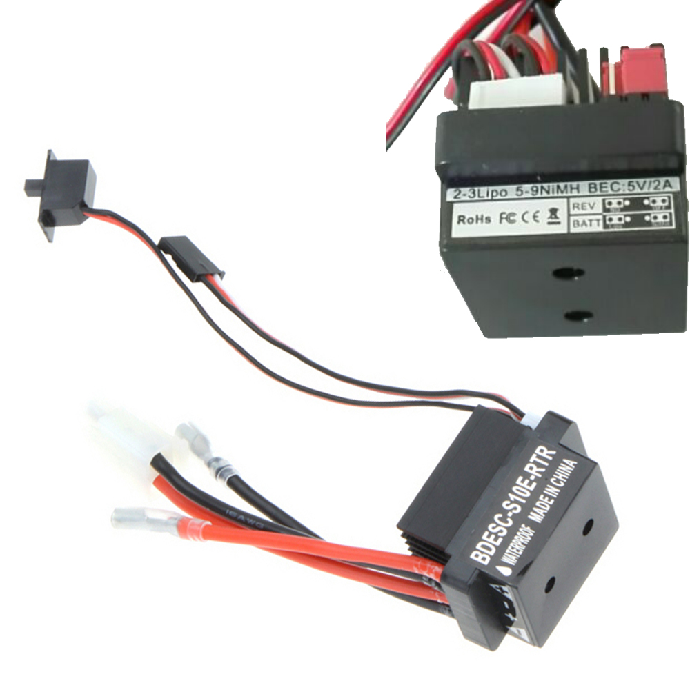 Register shipping 5pcs/lot 6-12V 320A RC Ship & Boat R/C Hobby Brushed Motor Speed Controller W/2A BEc ESC