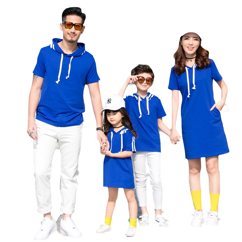 2019 Summer Daddys Girl Father and Son Matching Clothes Family Pajamas Mother Daughter Dresses Short Sleeved Sweatshirt Dress2019 Summer Daddys Girl Father and Son Matching Clothes Family Pajamas Mother Daughter Dresses Short Sleeved Sweatshirt Dress