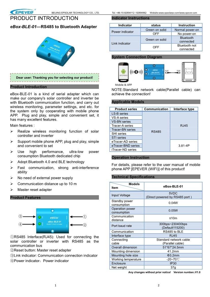 Трассировщик epever MPPT 40A 30A 20A 10A солнечное зарядное устройство контроллер lcd 12V24V авто высокая эффективность Регулятор солнечной 4210AN 3210AN 2210AN