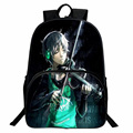 Japan And Korean Designer Anime Backpack Cartoon Boy Girl Printing Backpacks Satchel College Student School Bag Nylon Rucksack