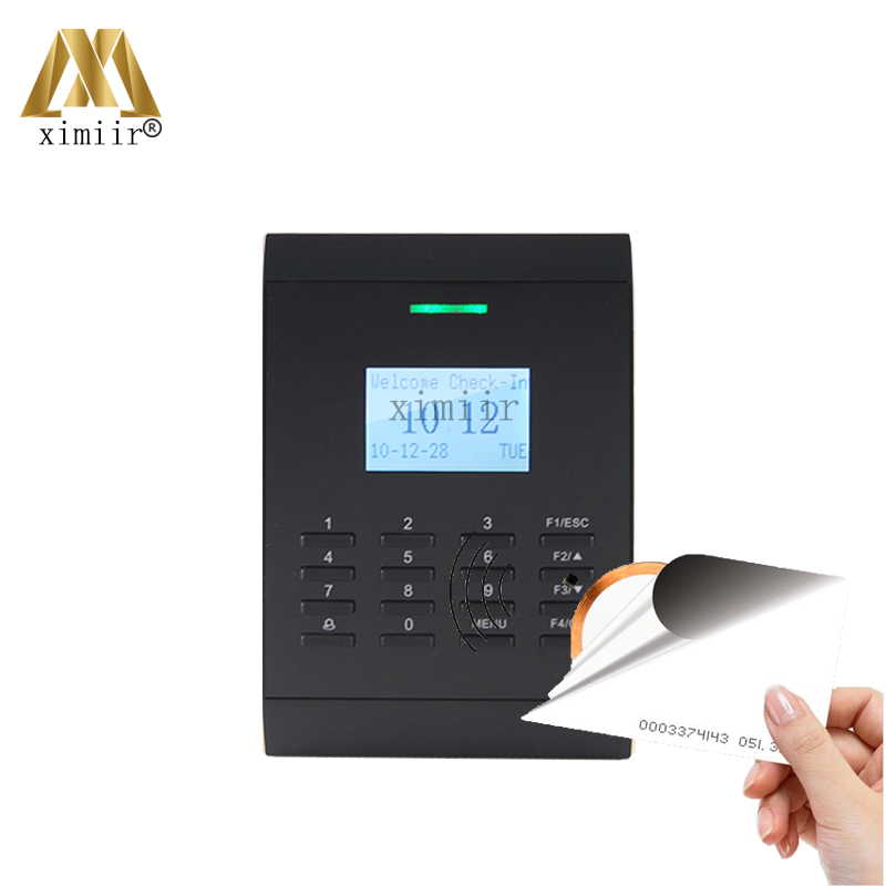 High User Capacity Biometric Card Access Control System SC403 With RFID Card Time Attendance Machine