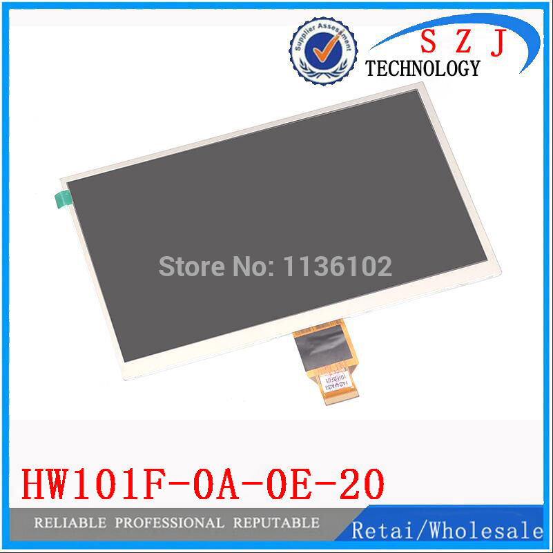 New 10.1'' inch case HW101F-0A-0E-10 HW101F-0A-0E-20 HW101F TFT LCD Display SCREEN for ALLWINNER A10 A13 Tablet PC Free shipping