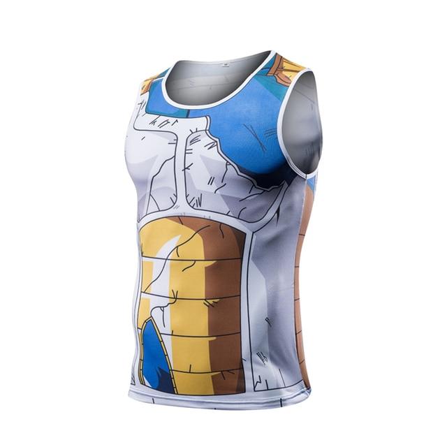 Dragon Ball Z Tank Tops Bodybuilding Gym T-Shirt