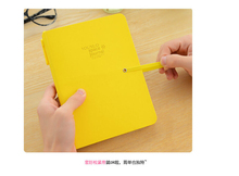 Korea Stationery Colorful straps notes within a notebook with a ballpoint pen  notebook/ diary/gift/office/school