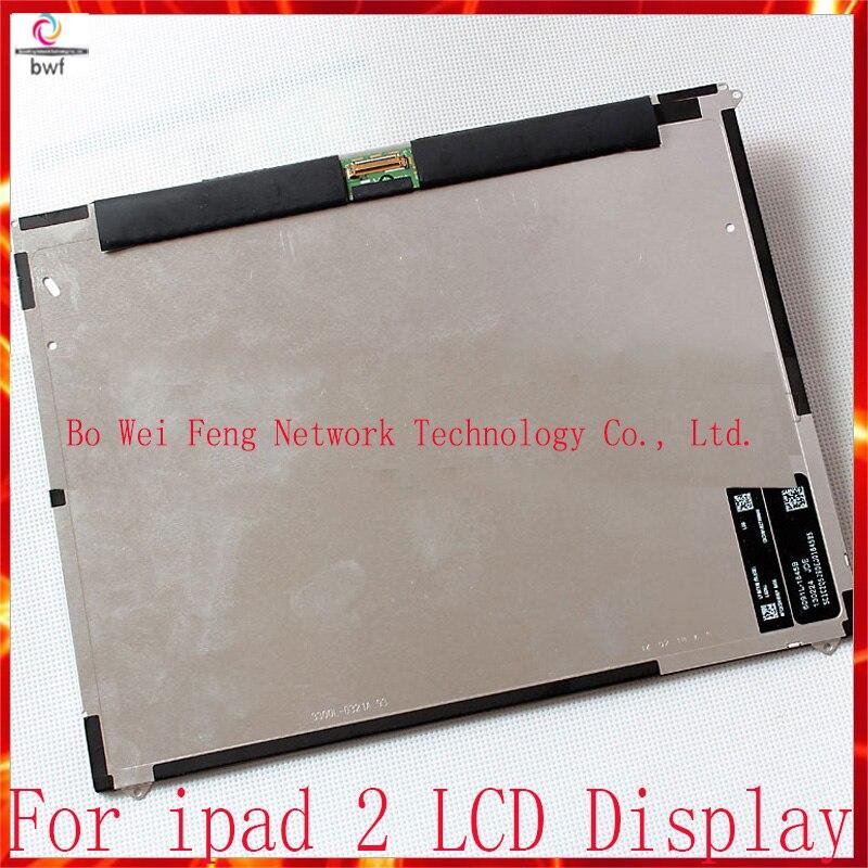 5pcs/lot Original For Ipad 2 ipad2 LCD Display Screen Tracking Code original 73g 2 5