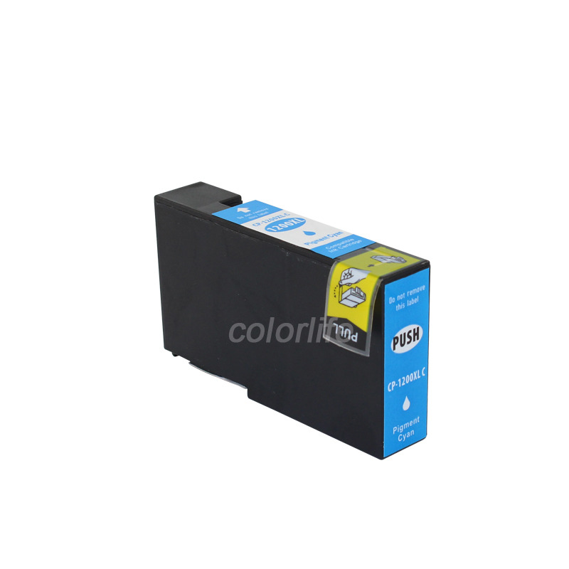 INK WAY 3PK Compatible CAN-PGI1200XL C Y M Ink Cartridge WITH PIGMENT INK For Canon MB5320 MB2020
