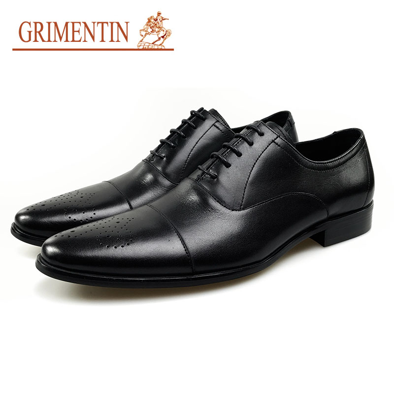 Genuíno Vestido Up Negócios Clássico Preto Sapatas Formal O Lace Para Black Casamento Designer Oxford De Couro Italiano Homens Sapatos w6zq4PwS