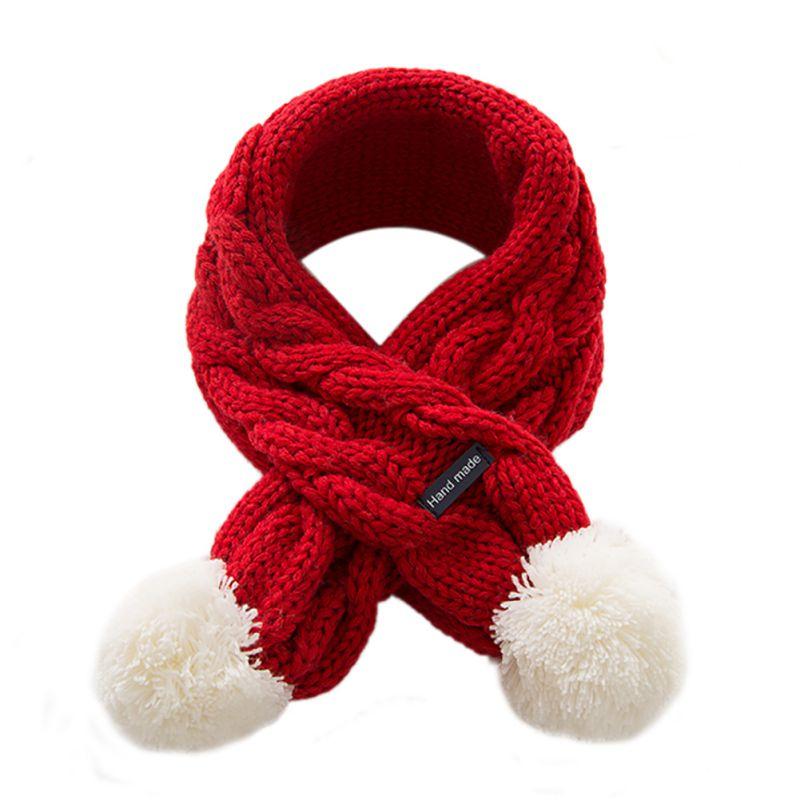 Зимние Детские средства ухода за кожей Шеи Шарф Для девочек, для мальчиков Детский шарф хлопок аксессуары для малышей утолщенные шарфы мале...