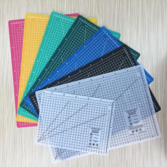 A1 A2 A3 A4 Eco Friendly Cutting Mats CM Grid Craft Paper Board Free Shipping High Quality Patchwork Handmade DIY Accessory Tool