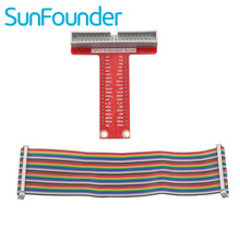 On sale SunFounder 40-pin GPIO Extension Board for Raspberry Pi B+ and Rapsberry Pi 2 Not included Raspberry Pi and Board