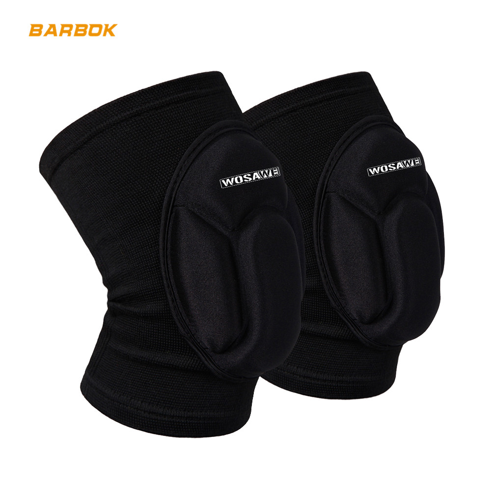 WOSAWE Motorcycle Knee Pad Volleyball Snowboard Sports Protection Elbow Guard Support Tape Kneepad Brace Cycing Leg Protection in Motorcycle Protective Kneepad from Automobiles Motorcycles