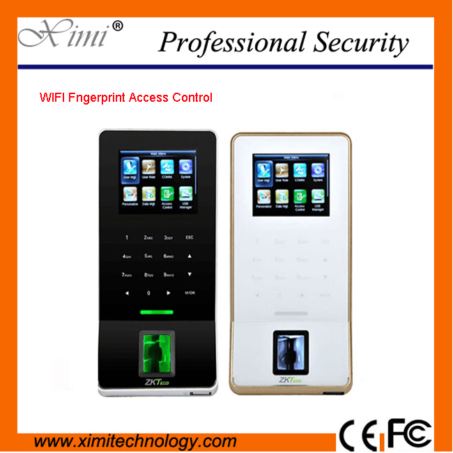 2017 New Technology 3000 Fingerprint Users WIFI Tcp/Ip Touch Keypad Fingerprint Access Control System biometric fingerprint access controller tcp ip fingerprint door access control reader