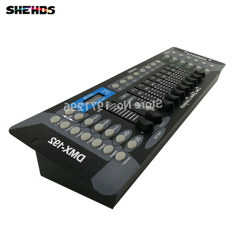 Free shipping NEW 192 DMX Controller DJ Equipment DMX 512 Console Stage Lighting For LED Par Moving Head Spotlights DJ Controlle dhl free shipping sunlite suite1024 dmx controller 1024 ch easy show lighting effect stage equipment dmx color changing tool
