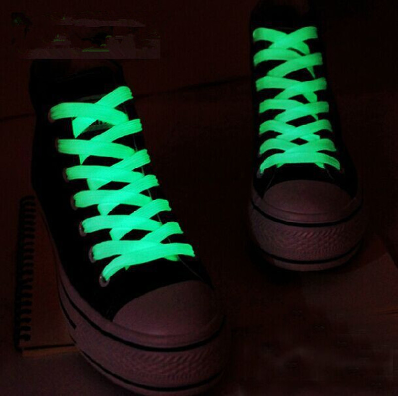 2pc/Pair 80cm 60cm 100cm  Shoelaces Glow In The Dark Light Kids Toys Luminous Shoelace Funny Sport Gift Running Fluorescent Gift