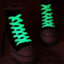 2pc/Pair 80cm 60cm 100cm shoelaces Glow In The Dark Light Kids Toys