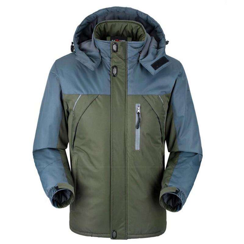 HTB1hfv8j9fD8KJjSszhq6zIJFXaK Jacket Men Winter Thick Fleece Waterproof Outwear Military Jackets Plus size 5XL Men's Windbreaker Army Parka Raincoat  Coats