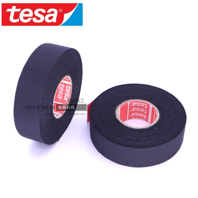 ( 1 PCS )Germany TESA 51036Flannelette Public Wire Harness Engine Room Temperature Resistance Tape TESA Adhesive Tape Meters