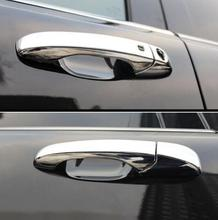 цена на For Jeep Grand Cherokee 2014 ABS Chrome Car Handle cover Decoration Trim sticker Car Accessories Styling