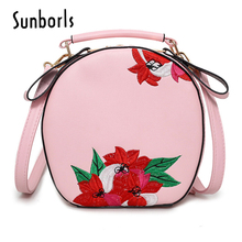 Вышивка женская кожаная сумка женщин сумки роскошные дамы посланник сумки бренда маленький клатч 9V5193