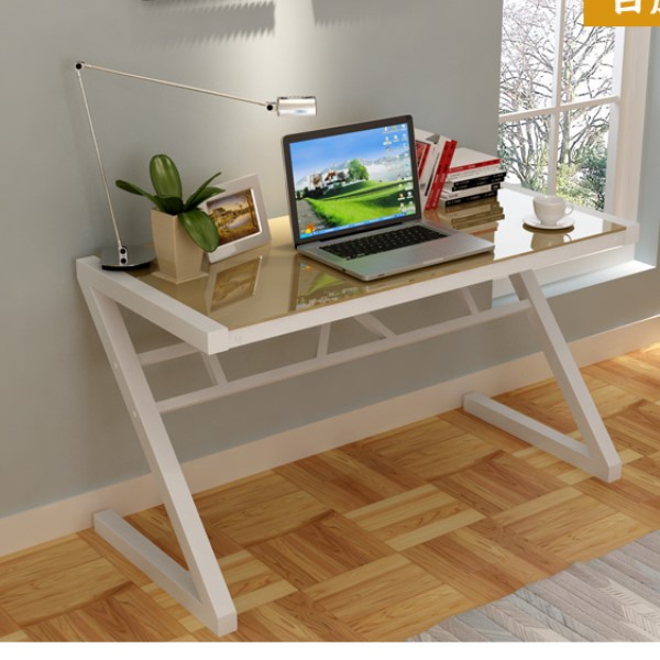Table Desktop Computer Desk Study Simple And Stylish Home Office Notebook Gl Type Z In Desks From Furniture On Aliexpress Alibaba Group