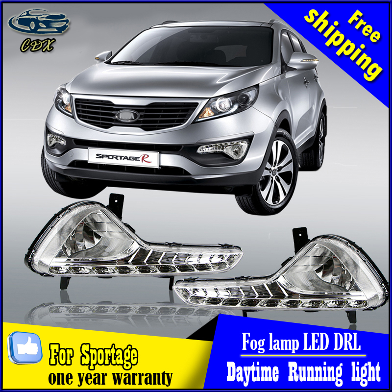 For Kia Sportage 2011 2012 2013 2014 Excellent Quality Led Daytime Running Light Ultrabright illumination DRL led light for honda accord crosstour 2011 2012 excellent led daytime running light quality ultra bright illumination drl led light