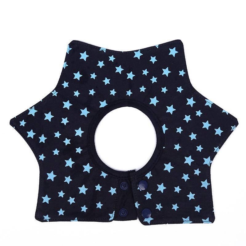 1 Pcs Adjustable Buckle Design 360 Degree Rotation Baby Bibs Burp Cloths Newborn Infant Saliva Towel color random baberos bebe
