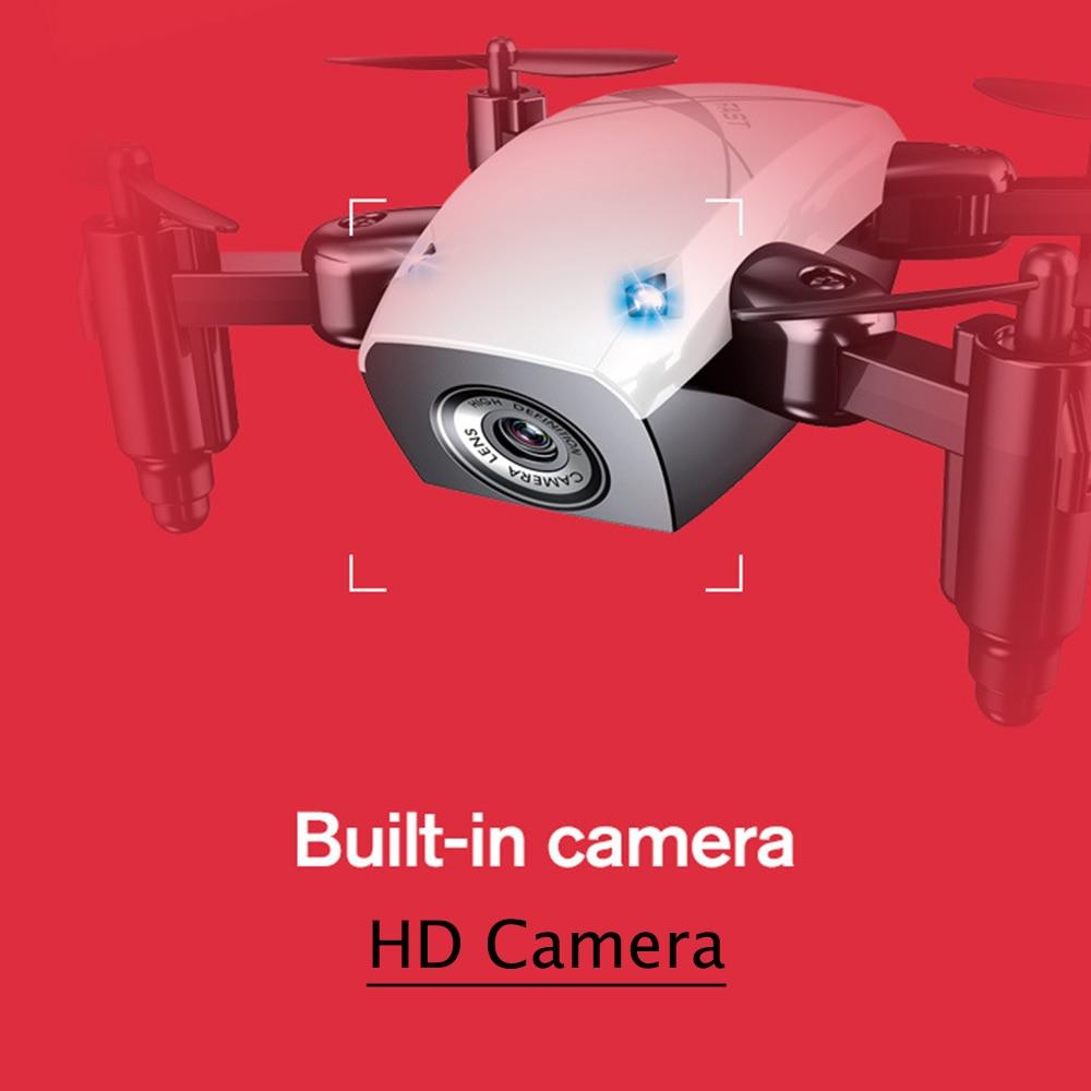 RC Dron mini plegable de bolsillo selfie drone con FPV HD Cámara altitud mantenga quadcopter vs Xs809hw jjrc H37 jxd 523