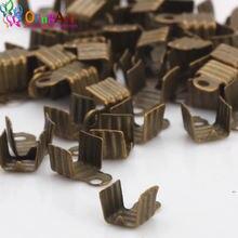Olingart 200 шт/лот 4 мм бронзовые металлические наконечники