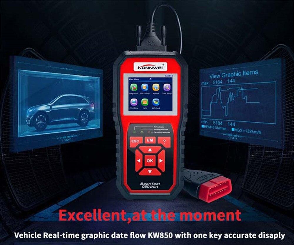 NT301 OBD2 Scanner OBD voiture Scanner automobile Multi langues mise à jour gratuite à vie professionnel OBD 2 outil de Diagnostic