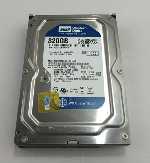ФОТО 3 years warranty  100%New and original  WD3200AAKX  3.5inch   SATA3 16M 7.2RPM