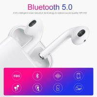 RAVI i12 TWS Wireless Earphone Bluetooth Earphones Touch Control & 3D Stereo Earbuds for iPhone x Samsung pk i10 i88 i9s