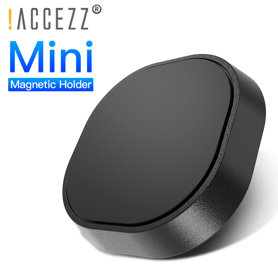 !ACCEZZ Mini Magnetic Phone Holder Universal In Car Magnet For IPhone X 8 6s Mobile Phone Wall Desk Dashboard Mount Holder Stand