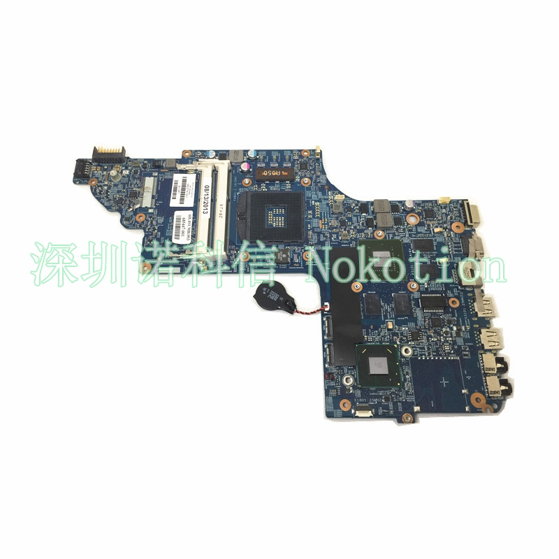 NOKOTION 682016-001 48.4ST10.031 Laptop motherboard for HP DV7-7000 DV7T 682016-501 HM77 630M  graphics memory Mainboard